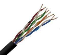 Cat5E UTP 24 AWG 4 Pair PVC cables