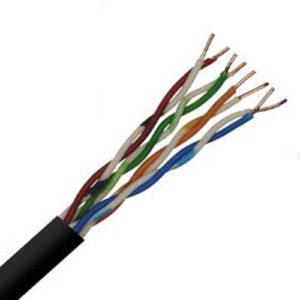 Cat5E UTP 24 AWG 4 Pair PVC cables